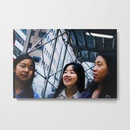 Girls on Fifth Avenue Metal Print