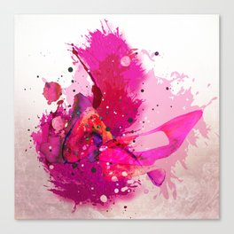 Kiss, kiss, kiss Canvas Print
