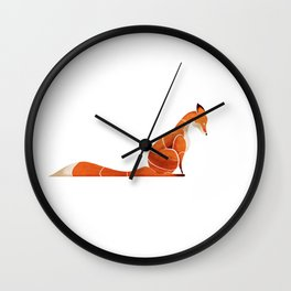 Fox 4 Wall Clock