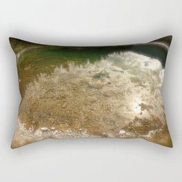 I see your eyes in the water. Rectangular Pillow