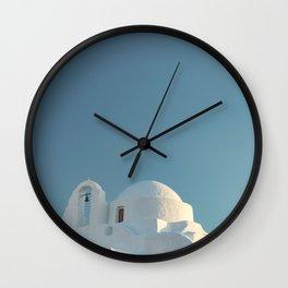 Mykonos Wall Clock