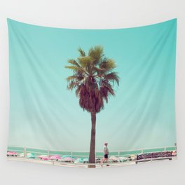 Just Another Summer Postcard Wall Tapestry