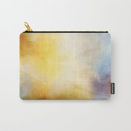 Orange and Yellow Abstract Painting Morning Glow Carry-All Pouch