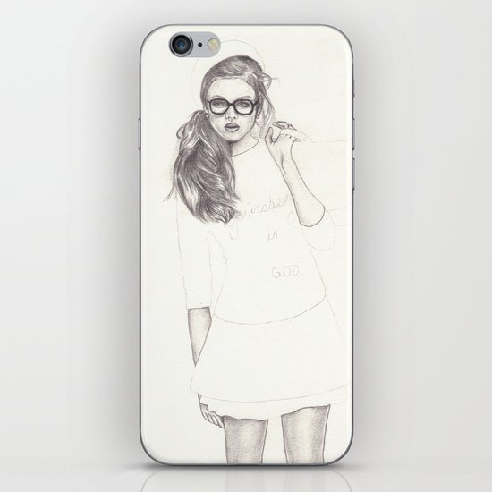 No.6 Fashion Illustration Series iPhone & iPod Skin