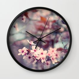 Spring flush Wall Clock