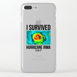 I Survived Clear iPhone Case