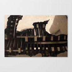 Gold Seperation Canvas Print