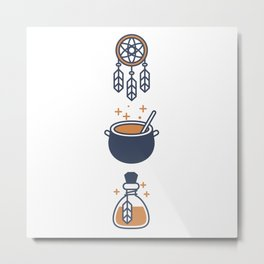 Magic Metal Print