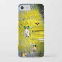 ducks iPhone & iPod Cases featuring ducks by  Agostino Lo Coco
