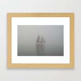 """Ghost Ship"" - Lake Superior, Minnesota  Framed Art Print"
