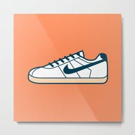 #55 Nike Cortez Metal Print