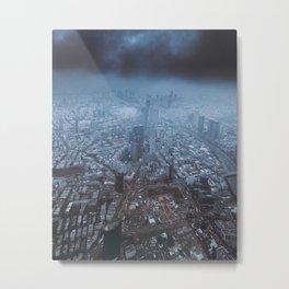 Urban Tel Aviv Metal Print