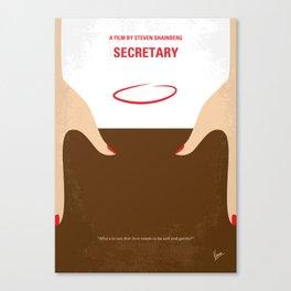 No371 My Secretary mmp Canvas Print