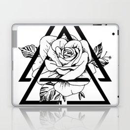 Gometric rose Laptop & iPad Skin