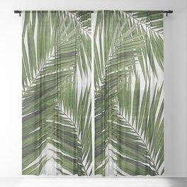 Palm Leaf III Sheer Curtain