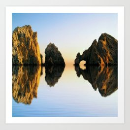 A Rocking Reflection Art Print