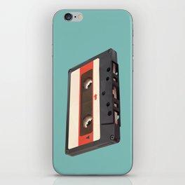 Cassette Tape Polygon Art iPhone Skin