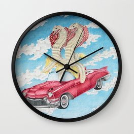 Best Day of the Best Friends Wall Clock