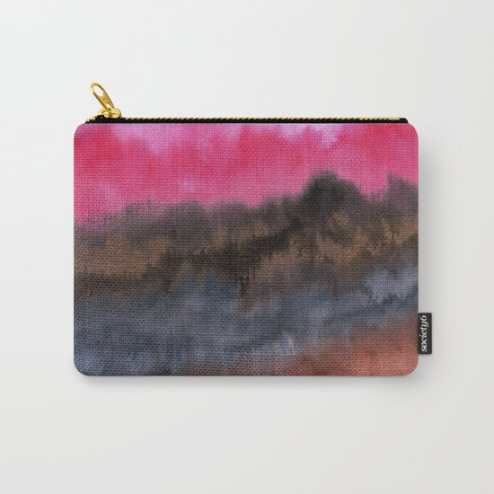 Watercolor abstract landscape 22 Carry-All Pouch