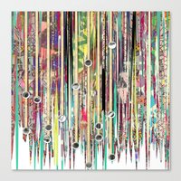 fringe Canvas Prints featuring Fringe Benefits by Lynsey Ledray