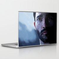 tyler spangler Laptop & iPad Skins featuring tyler hoechlin by Finduilas