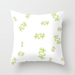 404 is still alive ....   (A7 B0040) Throw Pillow