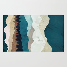 Fall Forest Night Rug