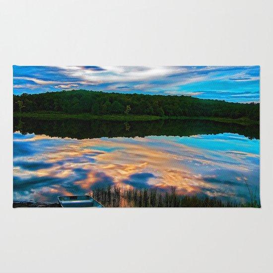 Evening Reflection Rug