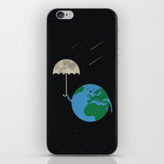 Moonbrella iPhone & iPod Skin