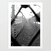 poland Art Prints featuring Auschwitz, Poland. by Grant Pearce