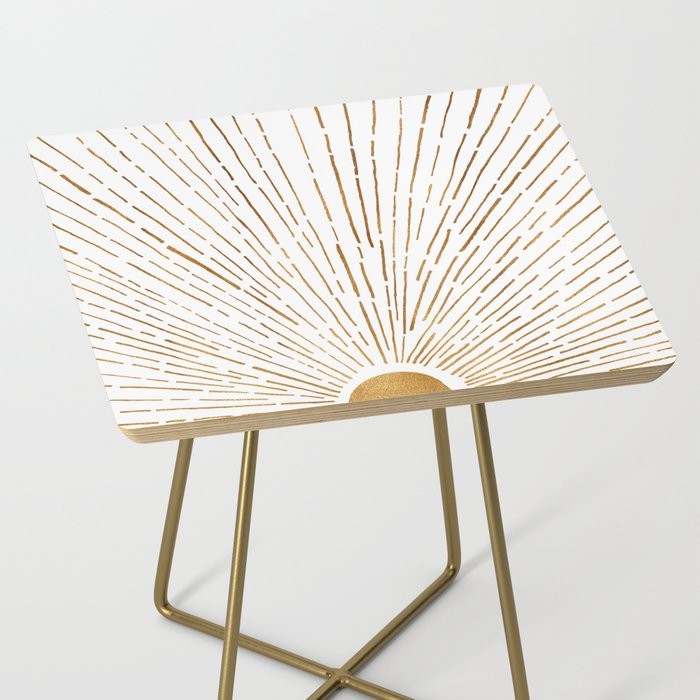 Let The Sunshine In Side Table