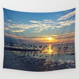 Morning Birds Wall Tapestry