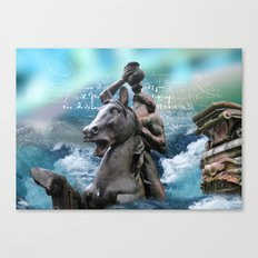 atlantis Canvas Print