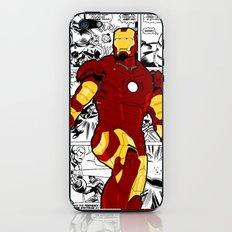Iron Man Comic iPhone & iPod Skin