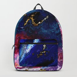 Brendon Urie abstract synesthetic painting Backpack