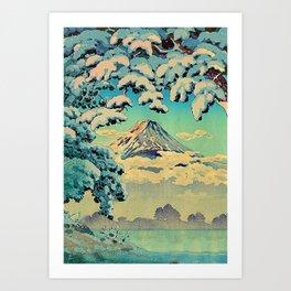 Kehiin in the Snow Art Print