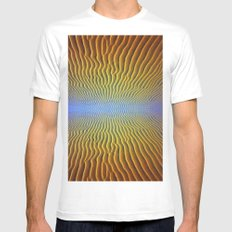 mirage Mens Fitted Tee White MEDIUM