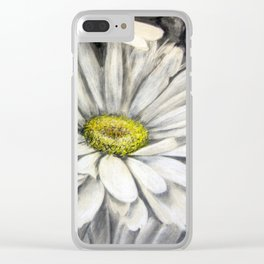 Follage de margarita (Daisy folge) Clear iPhone Case