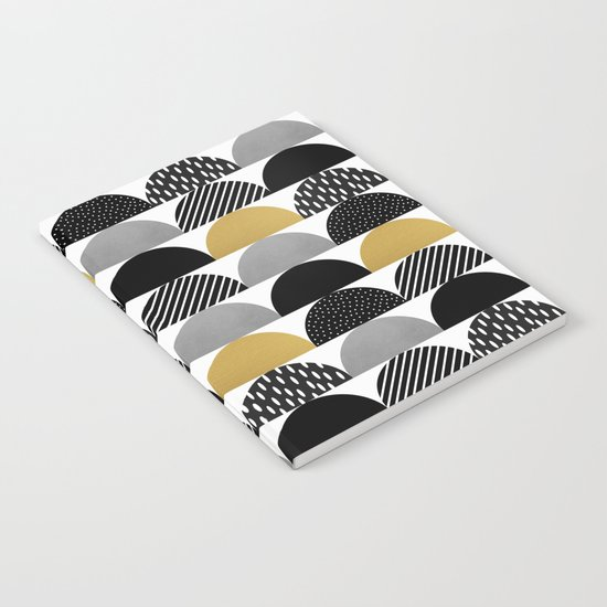 My Favorite Candy / Black & Gold Notebook