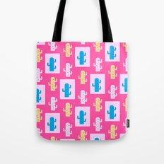 Cacti in pink Tote Bag