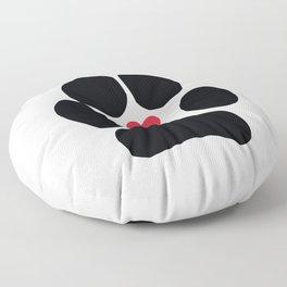Dog Paw Floor Pillow