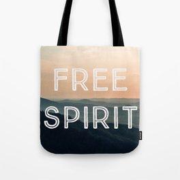 Free Spirit (Mountains) Tote Bag