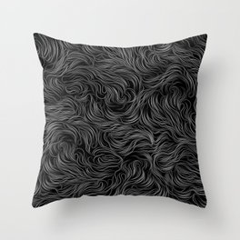 ab/strings-g Throw Pillow