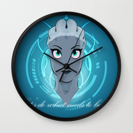Liara T'soni - The Queen Bee of Bioware (Revised) Wall Clock
