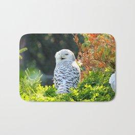 Snowy Owl 1 Bath Mat