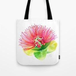 Red Flower / Ohia Lehua Tote Bag