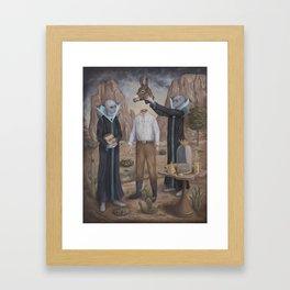 The Coronation Framed Art Print