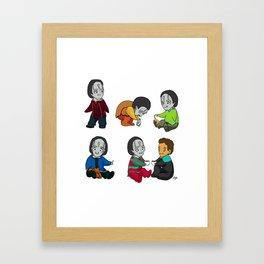 Bean Bag Garak Adventures Framed Art Print