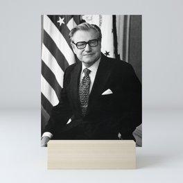 Nelson Rockefeller Portrait - 1975 Mini Art Print