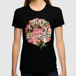 Lady Boss Floral Bouquet T-shirt